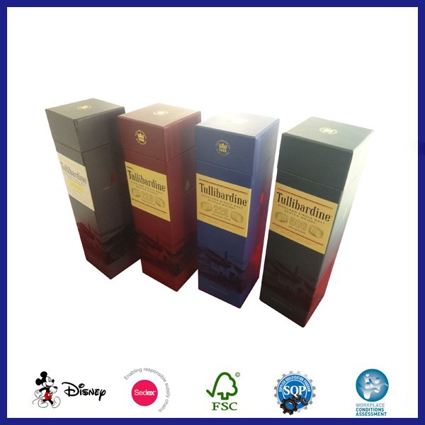 single glass gift packaging wine box