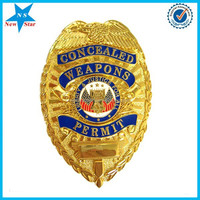 Soft enamel security lapel pin from China supplier