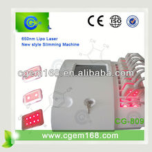 Monthly sales of 200 units!!!!! laser liposuction body slimming machine portable diode laser liposuction machine with CE