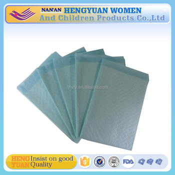 disposable adult underpads in bales for postoperative patients