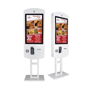 32 Inch Fast Food Digital Touch Order Kiosk with 80mm SNBC Brand Thermal Printer