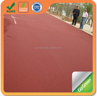 Go Green Cold Mix Colored Asphalt / Road Surfacing Materials
