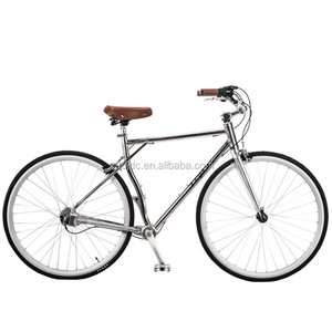 700C vintage bicycle fashion antique bikes aluminum road bike/city bike bicycle no chain bicycle