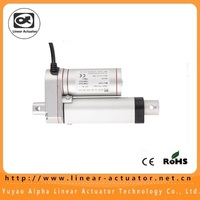 150mm/ 6inch stroke 900N/90KG/198lbs load 12V DC mini linear actuator
