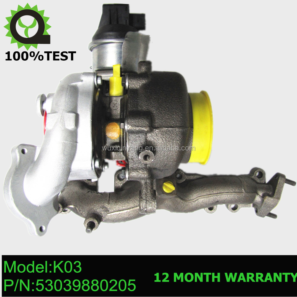 K03 Turbocharger turbo 53039880205 53039700205 for Audi A3 2.0 TDI