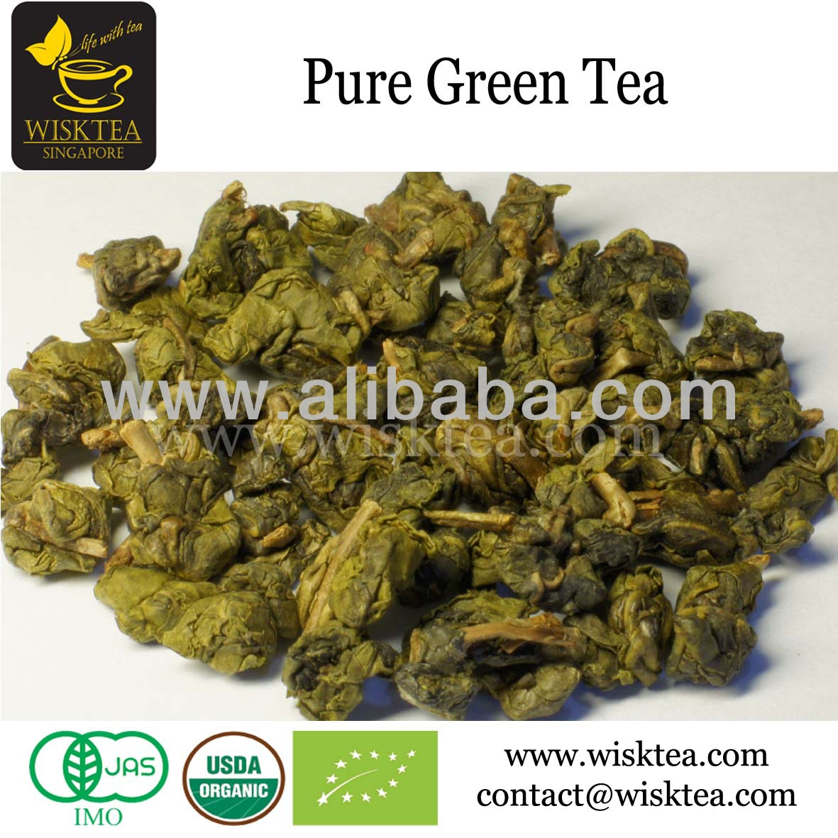 Certified Organic Premium Green Tea