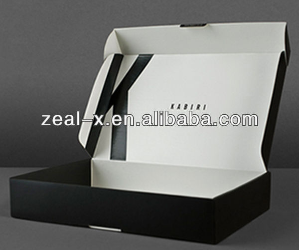 Cheap Price W9 Corrugated Recycled Cardboard Apparel Packing Packaging Box Ccustomized Plastic Window Folding Boxes