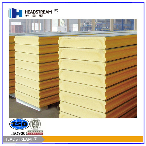 Professional PUR/PIR Isopanel Panel made in Shandong Hongxinyuan factory
