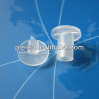 plastic snap with thread rohs black natural clear
