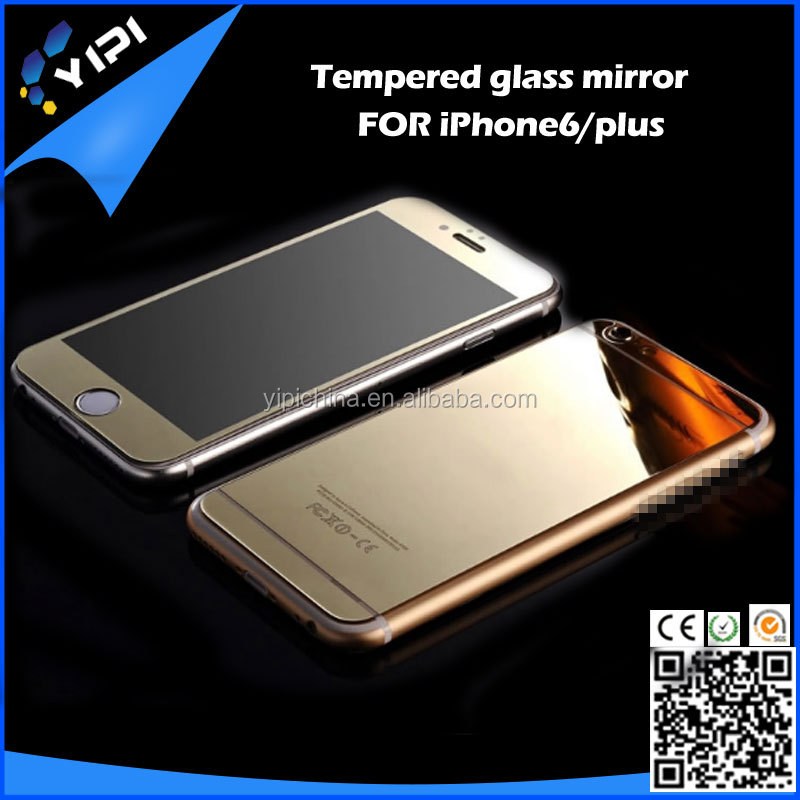 Thin Mirror case LCD Screen Guard Protector protective Film Shield For Apple cover for iPhone 5 5S 5G