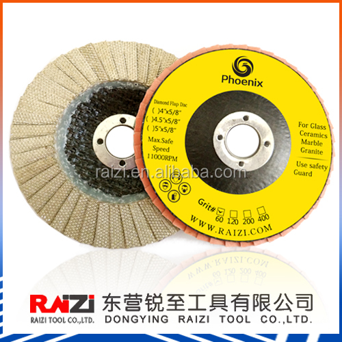 Diamond Flap disc/wheels