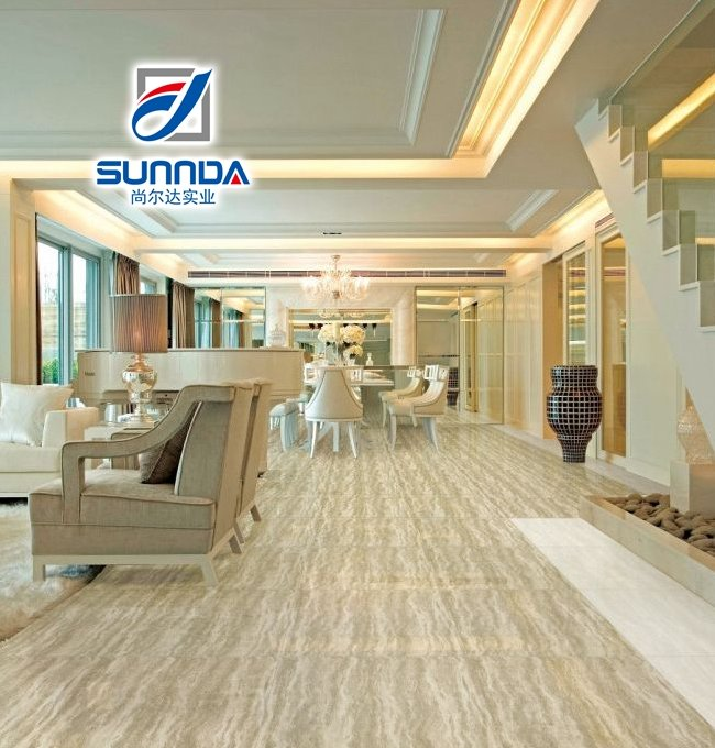 unbreakable discontinued inkjet printed ceramic wood texture design anti-skidding floor tiles