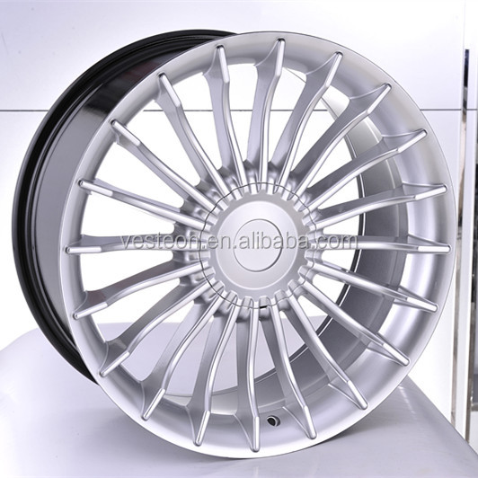 best selling classical style 17inch to 20inch replica alloy wheel for cars