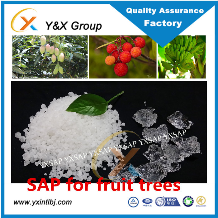 Price super absorbent potassium acrylate sap agriculture solid rain