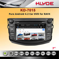 2014 new style toyota rav4 car dvd player android 4.2 system