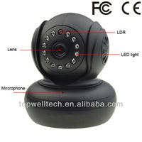 indoor wireless 720P P2P mini IP IR camera