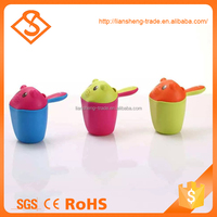 Multifunctional wash hair bathroom accessory baby bath cup