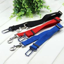 Adjustable Practical Dog Pet Car Safety Leash Seat Belt Harness Restraint Collar Leads Travel Clip Hot Selling