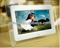 Factory 7 inch digital photo frame Single Function CE/ ROHS