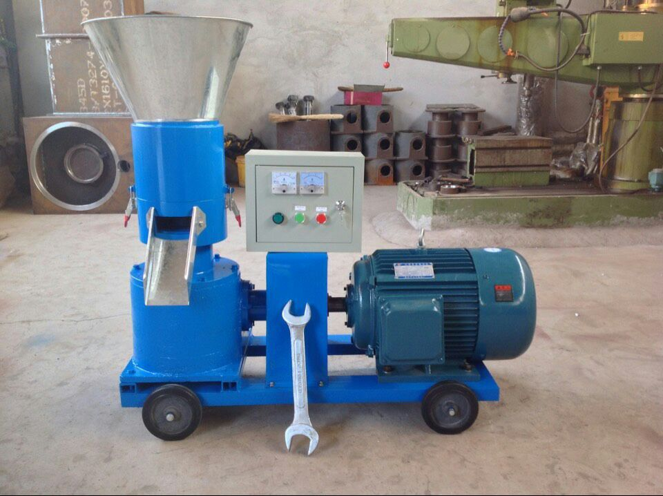 Small model home use animal feed pellet making machine
