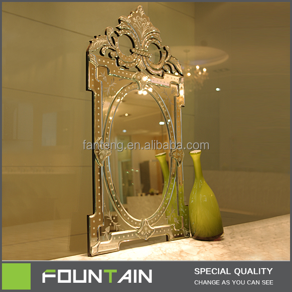 Modern Art Decorative Venetian Mirror Combination 4mm Wall Mirror