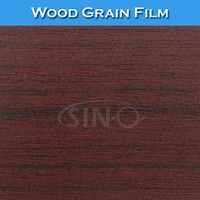 SINO W1325 Decoration Sticker Wood Grain PVC Sheet For Furniture