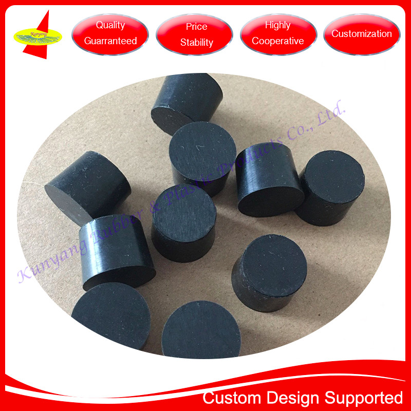Small MOQ OD16.5xOD18.5xH14.5mm Cone Tapered Silicone Rubber Stopper Plug