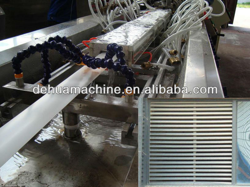 PVC window shade making machine