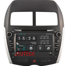 Car Stereo Navigation GPS System For Mitsubishi ASX 2010-2011 Car Multimedia DVD Player Headunit GPS System