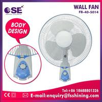 16 inch wall mounted industrial exhaust fan with 3PP blade
