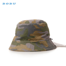 fisherman hat quarter hat unisex outdoor cheap polo cotton camo army bucket hat