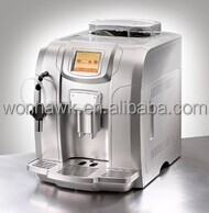 New Design Full Automatic Espresso Coffee Machine with LCE Display Self-cleaning Programmed