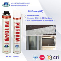 Aristo B2 PU Foam, fire retardant spray foam, non-flammable expanding Foam