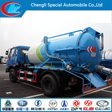 Hot! Euro3 Sewage cleaning tanker truck for sale