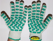 Joint protection, anti vibration work glove