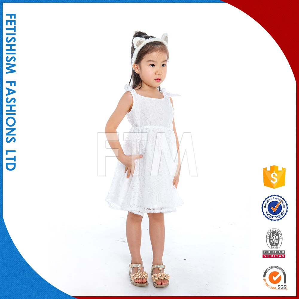 new design fashion party dress for 2-12 years old girls