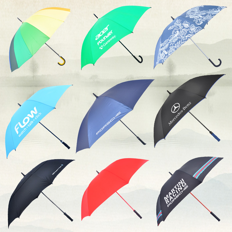 Creative new design magic handle double layer inverted umbrella with windproof