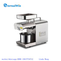 2017 hot sale kitchen appliance home use mini cold oil press machine