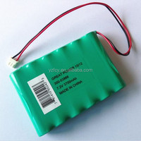 rechargeable batteries Ni-MH AA 3700mAh 7.2V battery pack industrial batteries
