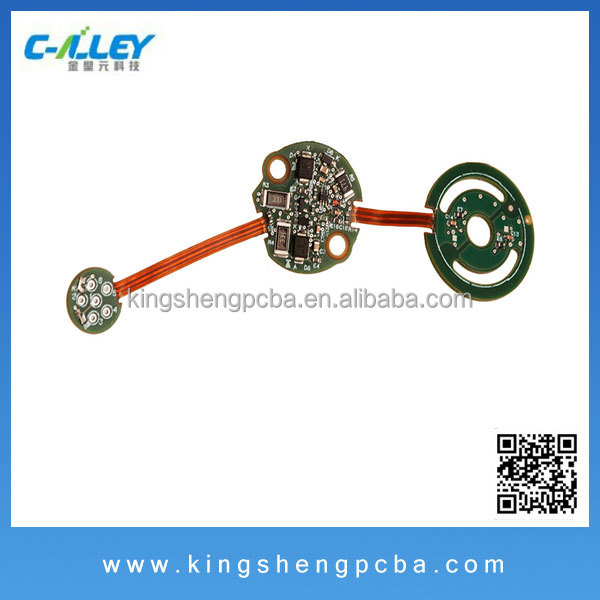 OEM Wireless Communication Equipment PCBA, Rigid-Flexible PCB Assembly and Testing