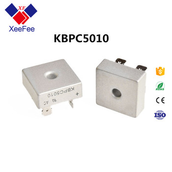 (Original New) Bridge Rectifier Diode Single Phase 1000V 50A Chassis Mount KBPC5010