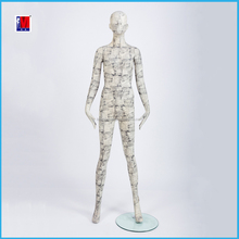 full body fashion very young clothing display mannequin model figures