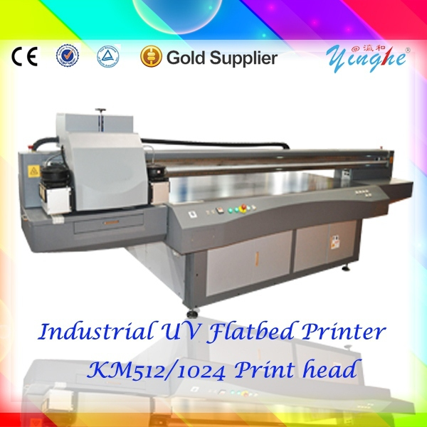 Heavy duty corrugated cardboard uv printing machine