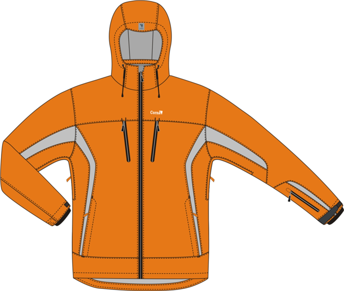 Corna Fashion design team customized for you fashion and casual skiing jacket