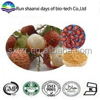 KOSHER Manufacture Natural Litchi Seed Extract, Lychee Juice Powder