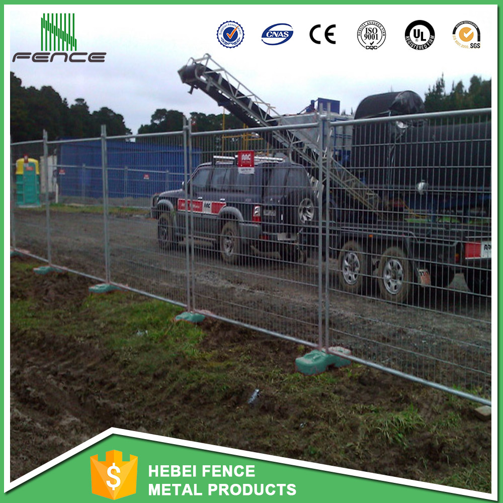 Standard AS4687 temporary event fence for sale / used galvanized playground temporary fence / metal steel