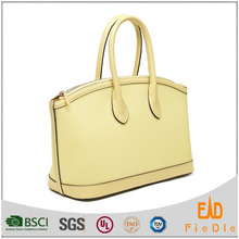 S639-B2679- 2015 clear PVC with genuine leather tote bag small purse Bling Fashion women shopping Leather handbag