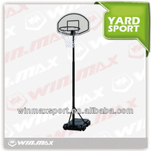 WINMAX height adjustable outdoor basketball stands
