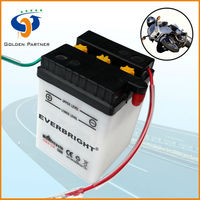 High quality motorbike use 6v dry rechargeable battery