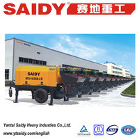 Yantai SAIDY hot sale in INDONESIA concrete pump